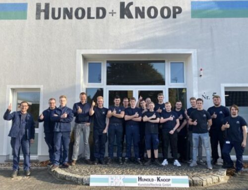 Start of vocational training at Hunold + Knoop