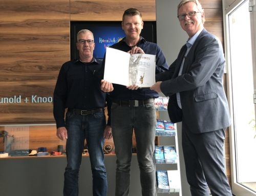 """Hunold + Knoop again nominated for the """"Grand Prix of medium-sized companies"""" 2019"""